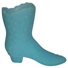Fenton, Satin Blue, Daisy & Button Boot