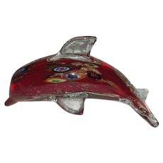 Murano Art Glass, Dolphin Figurine
