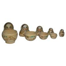 Set of 5, Russian Nesting Dolls