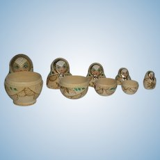 Set of 5, Russian Nesting Dolls