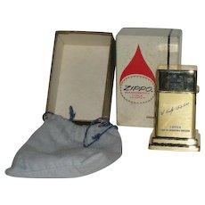 1964, Goldtone, Zippo, Barcroft Service Award, Advertising Table Lighter