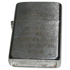1954, Nagoya Airmen's Club Complimentary Lighter