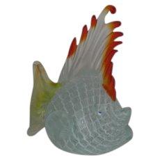 Murano, Satin, Art Glass Blow Fish
