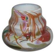 Rare, Hand Blown, Fostoria Interpretations/Impressions Art Glass Vase