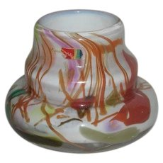 Rare, Hand Blown, Fostoria Interpretations/Impressions Art Glass Vase