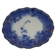 "Ridgeway, 10"", Victorian Flow Blue Plate"