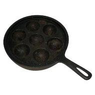 Cast Iron, Egg Poaching/Muffin Pan