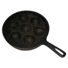 Cast Iron, Egg Poaching/Muffin Pan