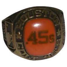 Houston Colt 45s, Cooperstown Collection, Sample Ring