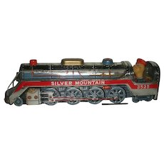 1960's, Battery Operated, Silver Mountain, Toy Train