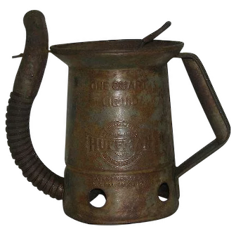 1932, Huffman, 1 Quart Oil Can W/Flex Spout