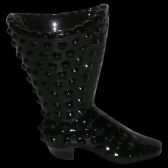 Fenton, Amethyst, Hobnail Boot