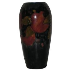 Blue, Moorcroft, Pomegranate, Pottery Vase