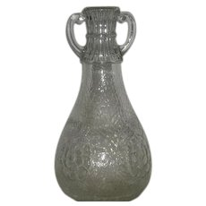 White House Vinegar, Two Handled, Cabbage Rose Qt. Bottle