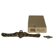 Bucilla, Brass, Bell Pull Hardware W/Original Box