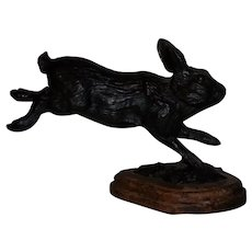 1981 W.H. Turner, #14/50, Bronze Rabbit Sculpture