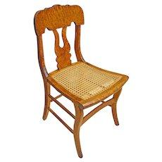 Pennsylvania Sheraton Bird's Eye Maple Desk or Side Chair