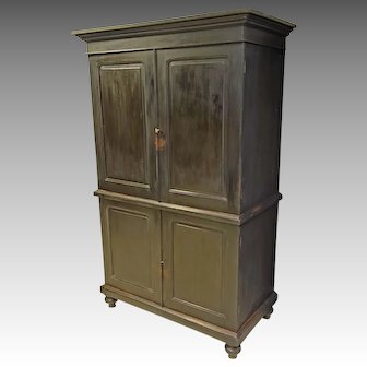Teak Linen Press Cabinet