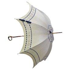 Victorian Linen Parasol