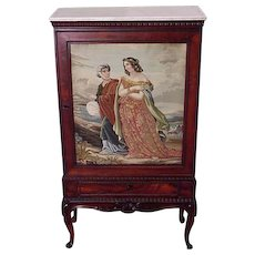 Rosewood Parlor Cabinet, Bookcase