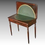 Rosewood Game Table, Sheraton, Victorian