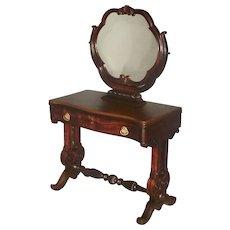 Rosewood Victorian Vanity, Dressing Table