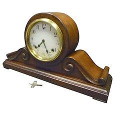 Mahogany Mantel Clock by Sessions