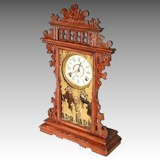 Victorian Shelf Clock by Welch