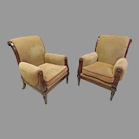 Regency Classical Style Armchairs