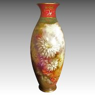 Royal Bonn Vase, Artist Signed