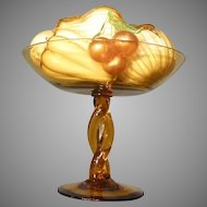 Art Glass Fruit and Compote