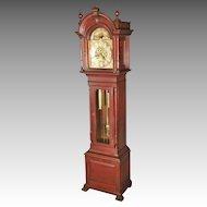 Mahogany Grandfather Clock, Hairhouse Jewelers, Dover, NJ