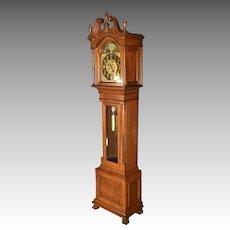 Mahogany Grandfather Clock, J.E. Caldwell