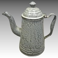 Grey Granite Coffee Pot