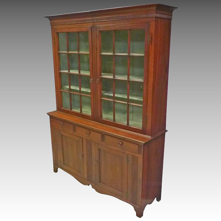 Pennsylvania Dutch or Stepback Cupboard - Pennsylvania Dutch Or Stepback Cupboard : Antiques On Hanover Ruby