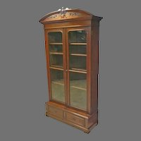 Victorian 2 Door Bookcase
