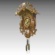 German Cuckoo Clock with Music Box