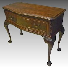 Mahogany Chippendale Server