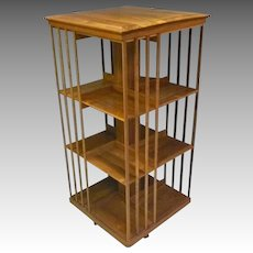 Tall Custom Revolving Bookcase