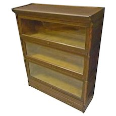 Oak Barrister Stacking Bookcase