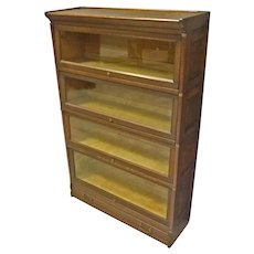 Oak Stacking Barrister Bookcase