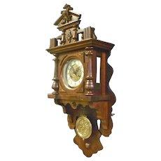 German Freeswinger Wall Clock
