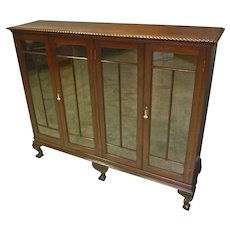 Mahogany Centennial Bookcase