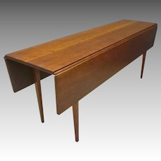 Narrow Dining Table by Eldred Wheeler