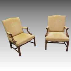 Pair Armchairs
