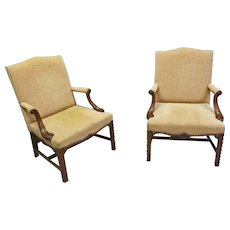 Pair Armchairs
