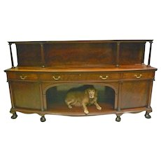 Huge Mahogany Sideboard