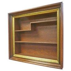 Walnut Victorian Shadow Box Frame