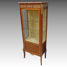French Curio or China Cabinet
