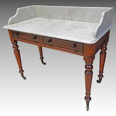 Marble Top Server Table